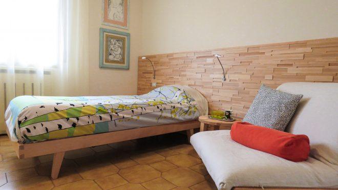 Boiserie letto